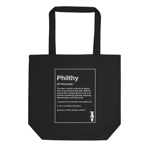 Philthy Definition Eco Tote Bag