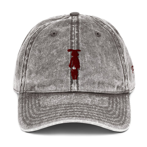 Philthy Rabbit Vintage Maroon Dad Hat