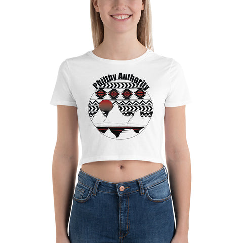 Philthy Mountains Crop Top