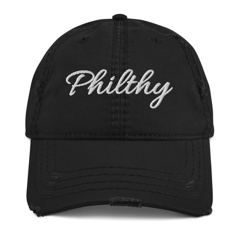 Philthy Distressed Dad Hat