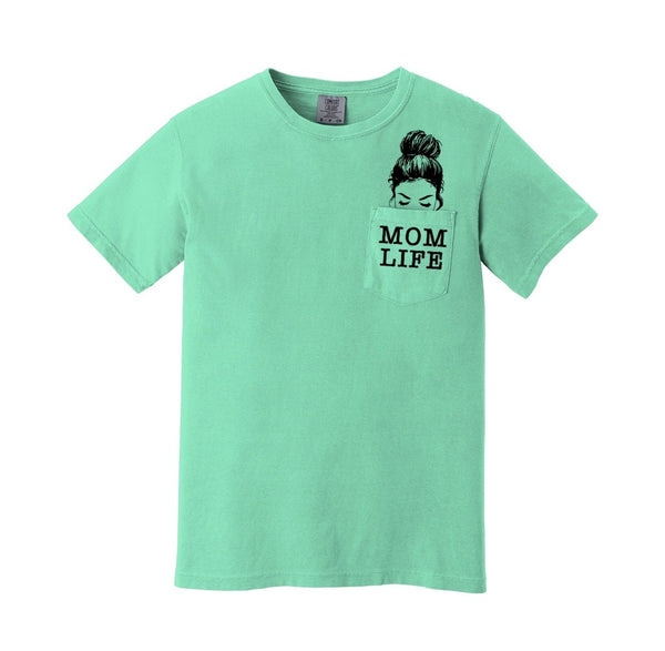 Mom Life - Chalk Mint