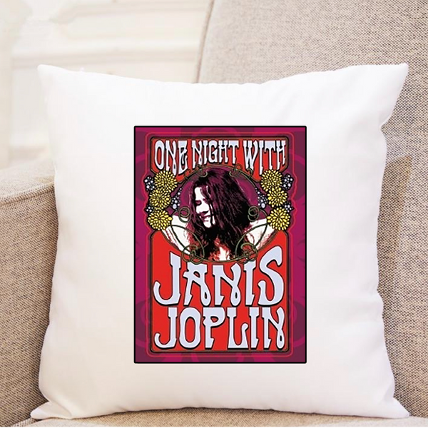 One Night With Janis Joplin - Pillow