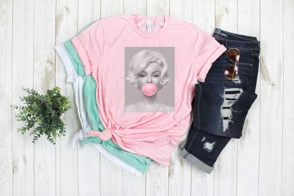 Marilyn Monroe Bubble Gum - Light Pink