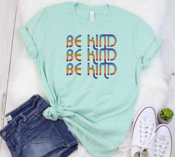 Be Kind w/ Serape - Mint