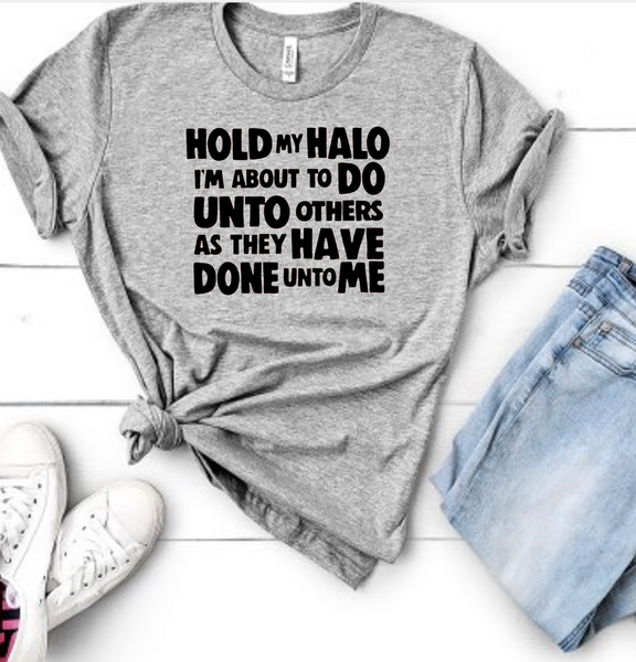 Hold My Halo - Sports Grey