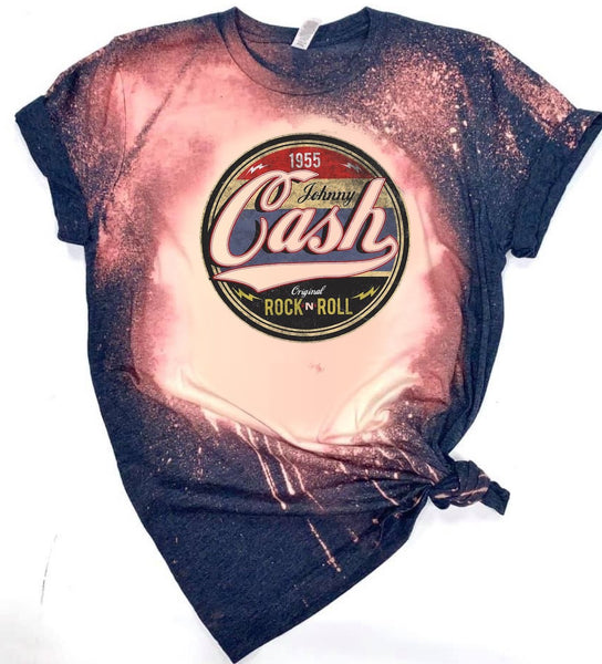 1955 Johnny Cash - Acid Wash Navy