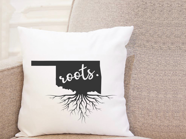 State Roots - Oklahoma - Pillow