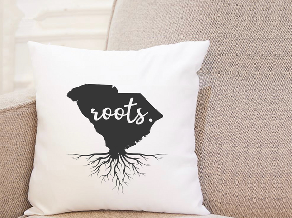 State Roots - South Carolina - Pillow