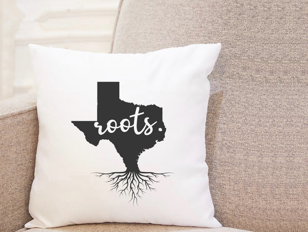 State Roots - Texas - Pillow