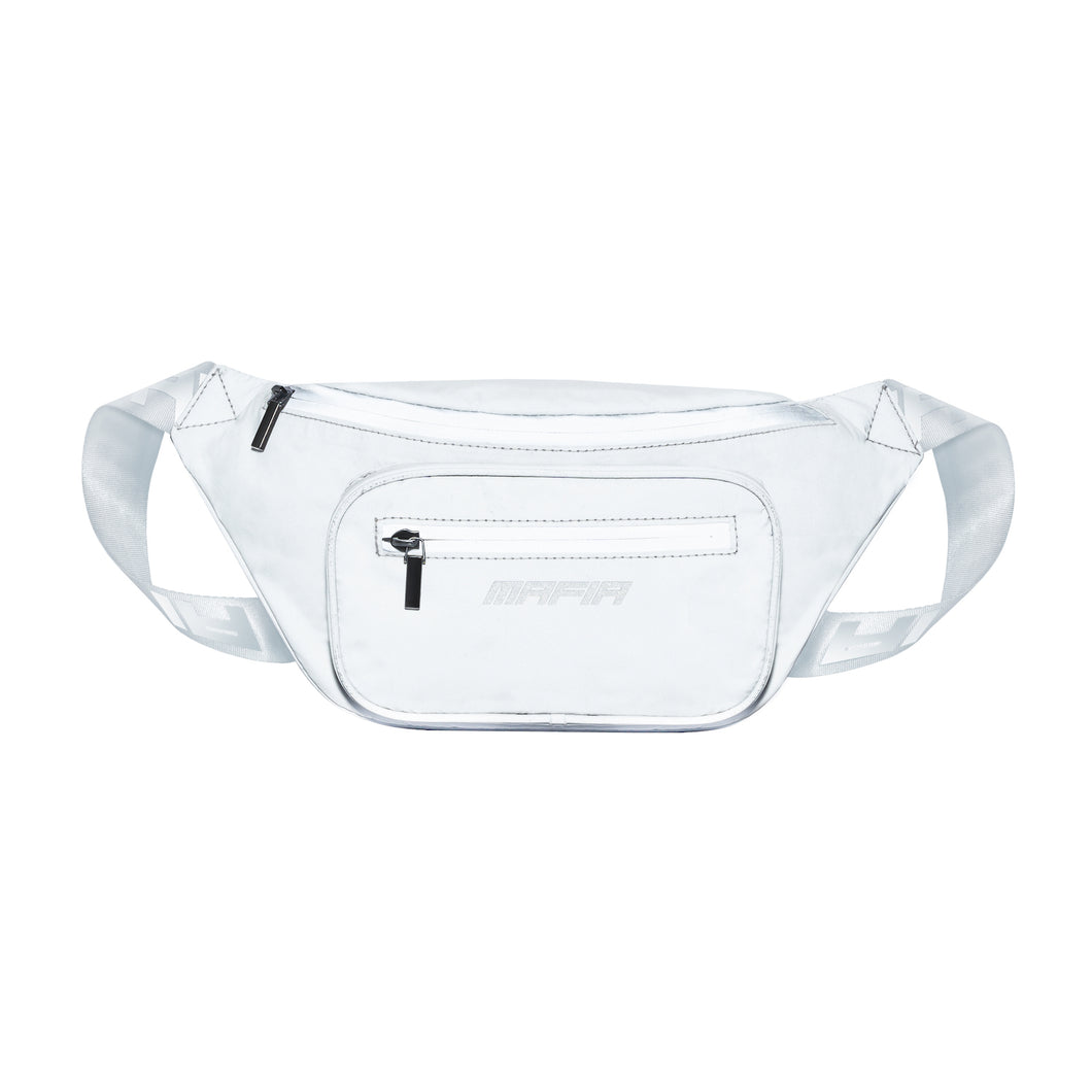 REFLECTIVE FANNY PACK - GREY
