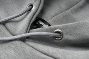 FADED HOODIE - GREY/BOLD ORANGE