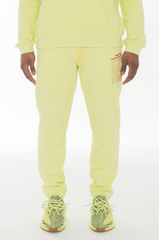 M4F14 SWEATPANTS - FROZEN YELLOW