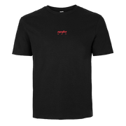 FADED TEE - BLACK/RED