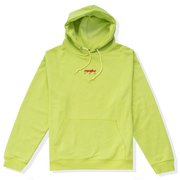 FADED HOODIE - FROZEN YELLOW/RAW STEEL