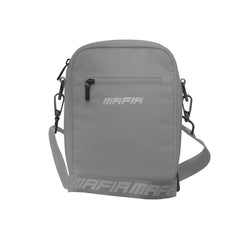 REFLECTIVE SHOULDER BAG - GREY