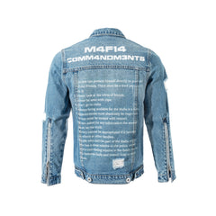 M4F14 DENIM JACKET - BLUE