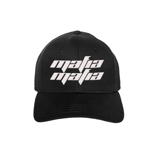 MAFIA DAD HAT - BLACK/WHITE