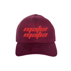 MAFIA DAT HAT - BURGUNDY/RED