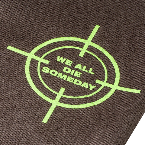 WE ALL DIE SOMEDAY SWEATPANTS - MAUVE