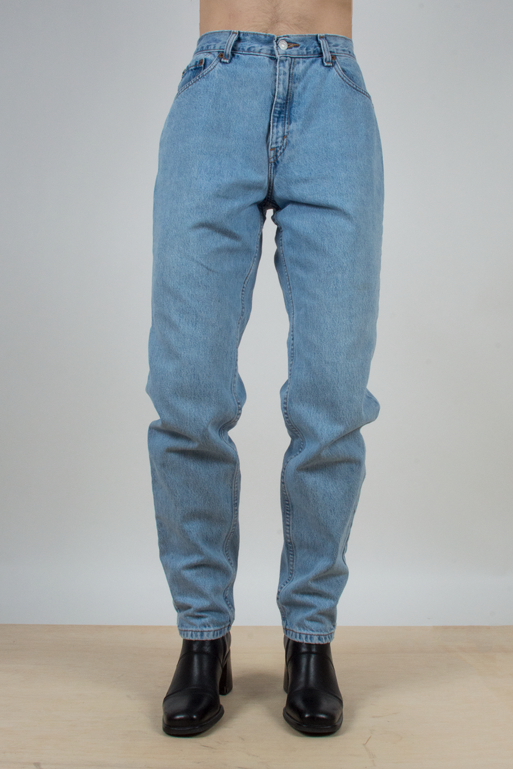 vintage levi's 550 tapered jeans