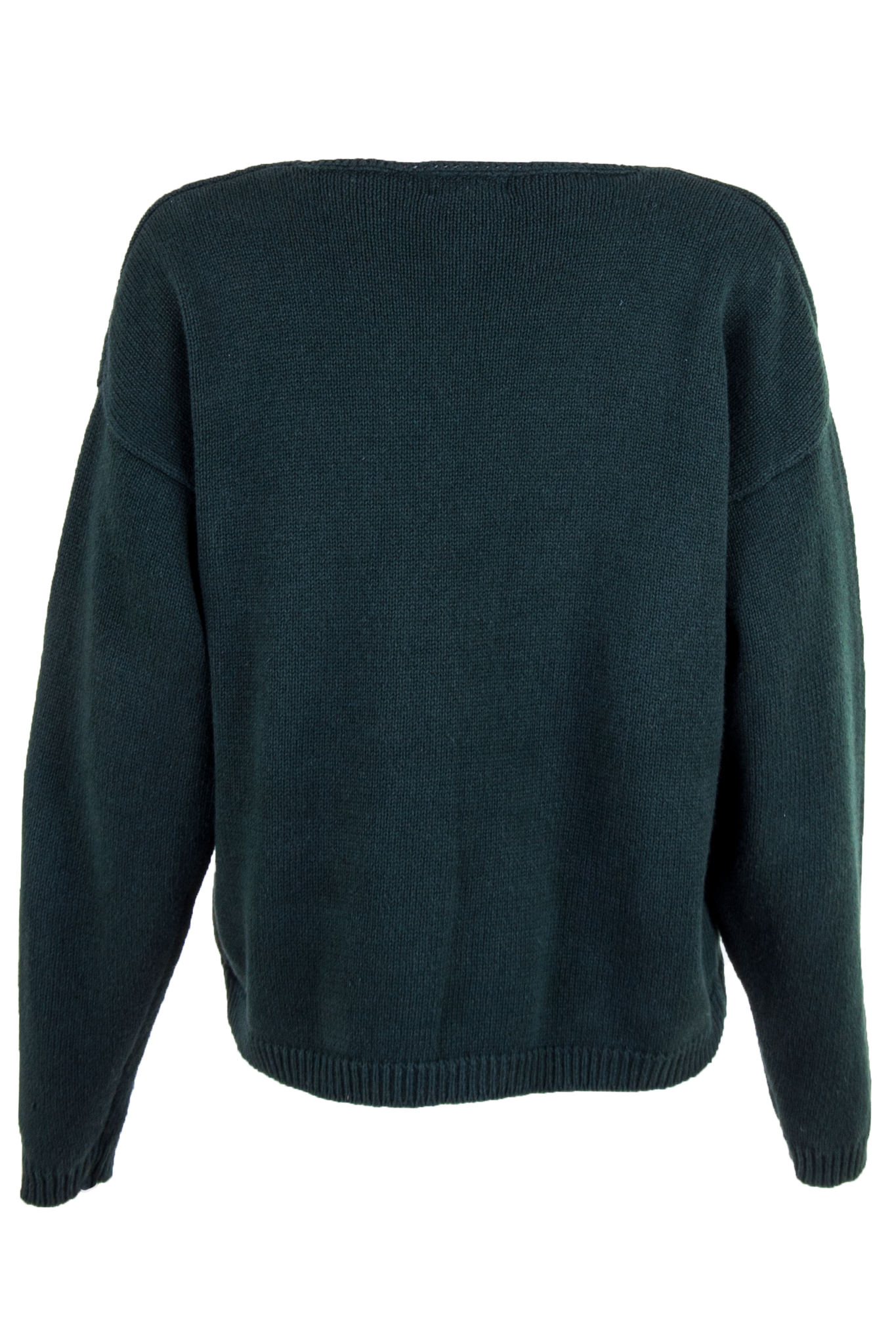 vintage dark green sweater