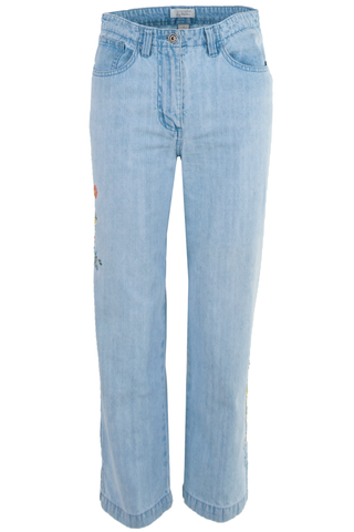vintage denim blue jeans