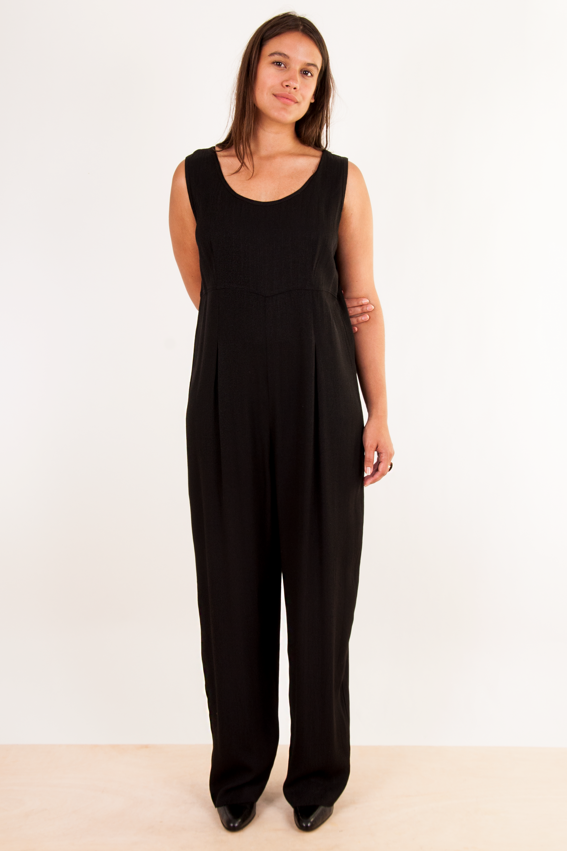 vintage black jumpsuit