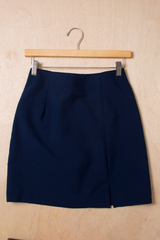 vintage dark blue skirt