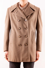 Brooks Brother Camel Coat