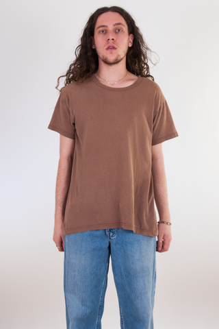 vintage brown tshirt