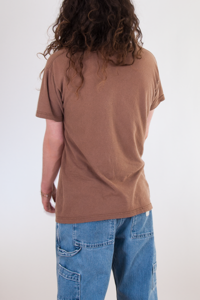 vintage brown t-shirt