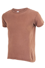 faded brown t-shirt