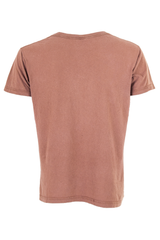 mens brown t-shirt