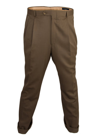 Vintage burberry slacks with pleated front
