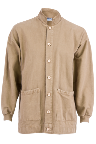 Camel Button Up