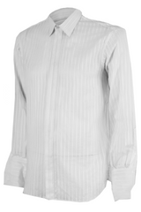 white button up céline shirt