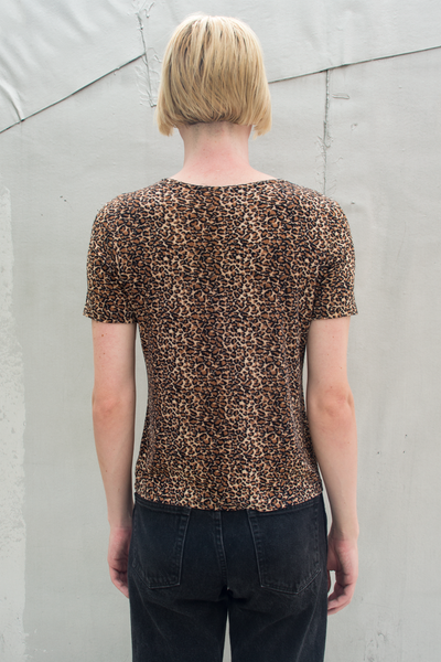 short sleeve cheetah tee