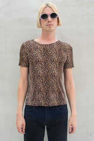 vintage cheetah t-shirt