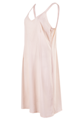 vintage cream slip dress