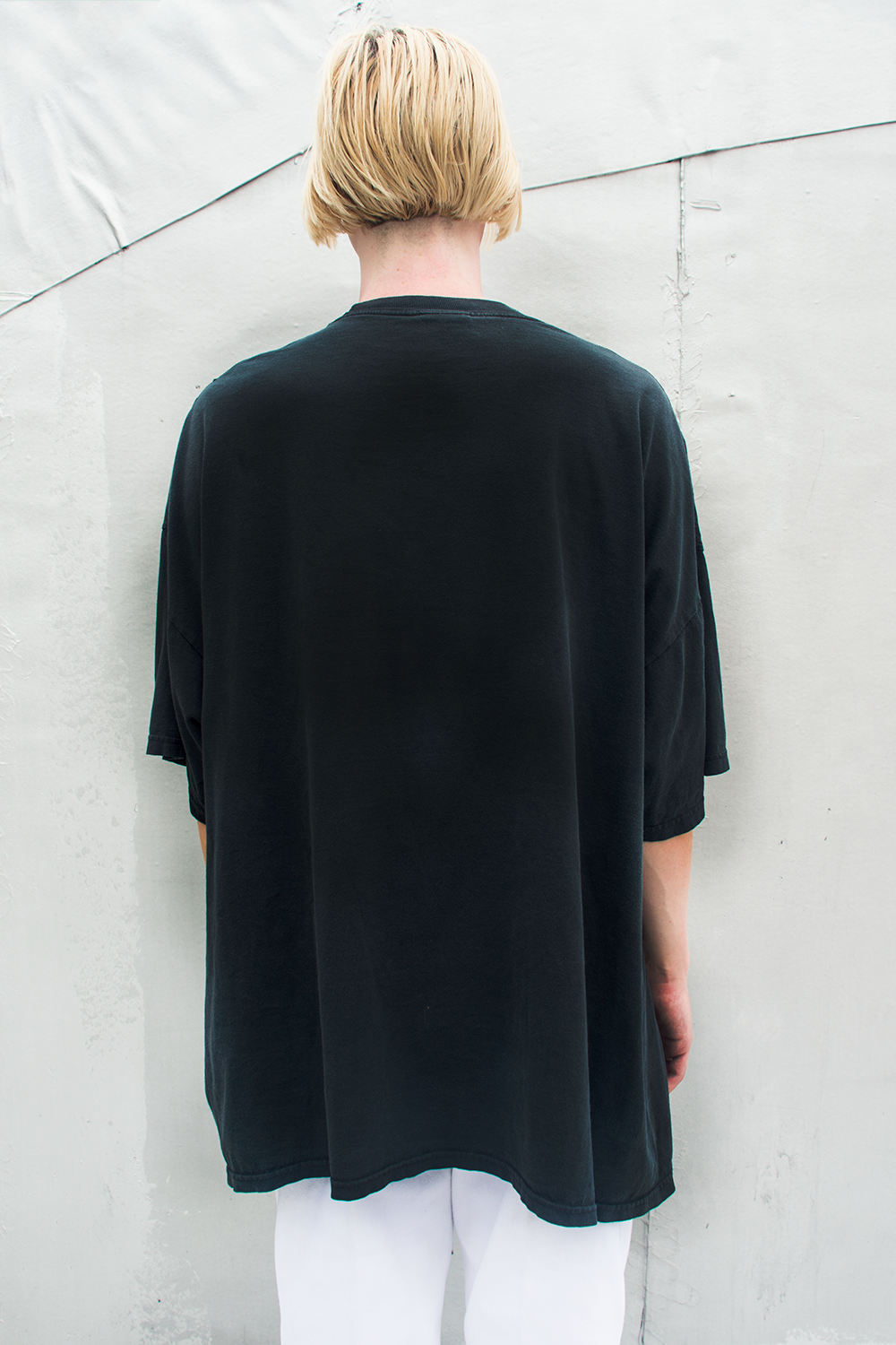 vintage oversized black t-shirt