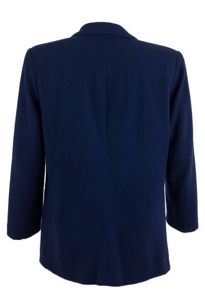 Vintage blazer in navy blue