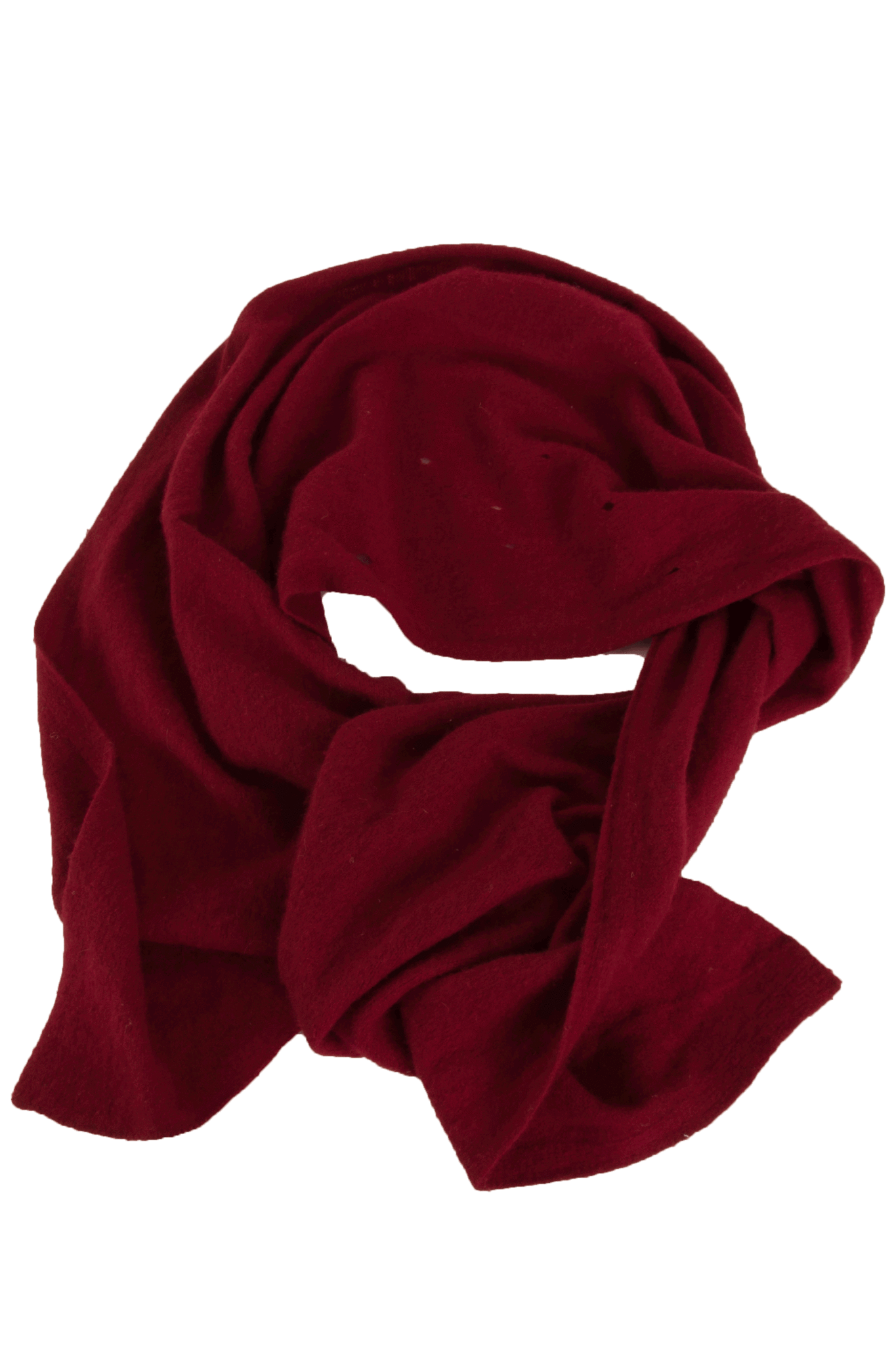 cashmere scarf in red