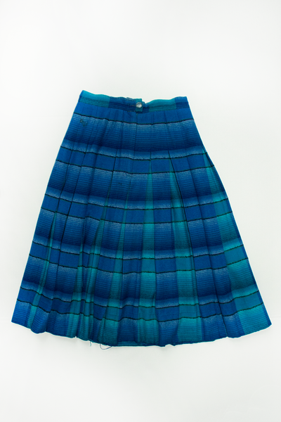 distressed southwestern blanket skirt
