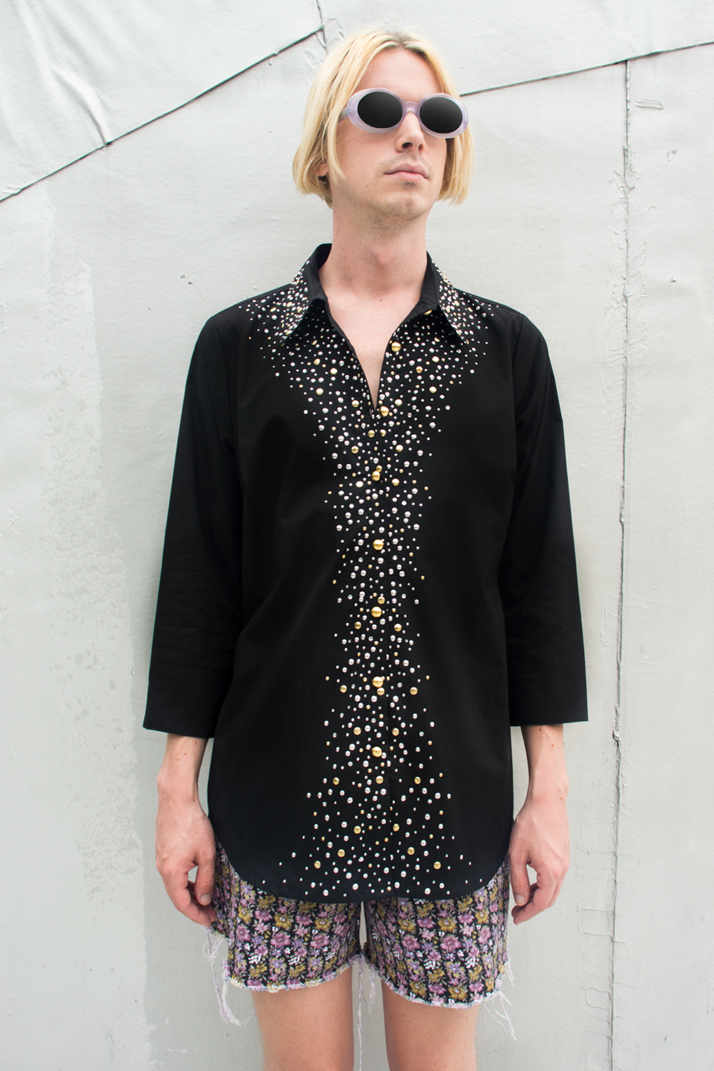 vintage Joan rivers shirt with embellishments