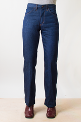 70's vintage jeans with flared leg