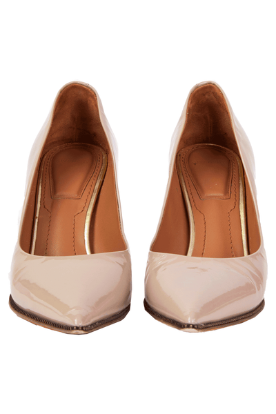 Givenchy pointed heels in nude