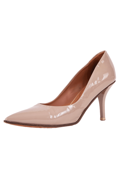 Patent nude Givenchy pumps