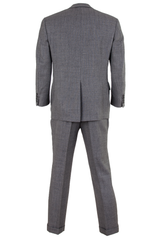 grey vintage suit set