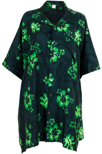 vintage hawaiian shirt dress