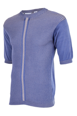lilac ribbed shirt